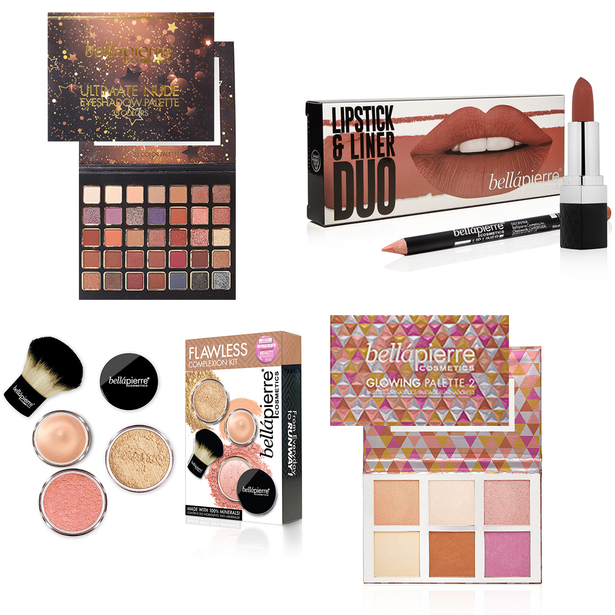 Natural Mineral Makeup Beauty Collection Sets And Palettes Header Image